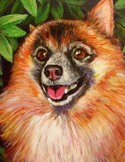 Nicky Animal art